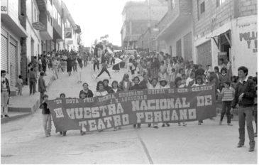 Teatro peruano cubierta